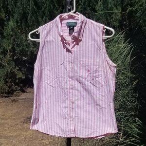 Ralph Lauren Sleeveless Oxford Shirt